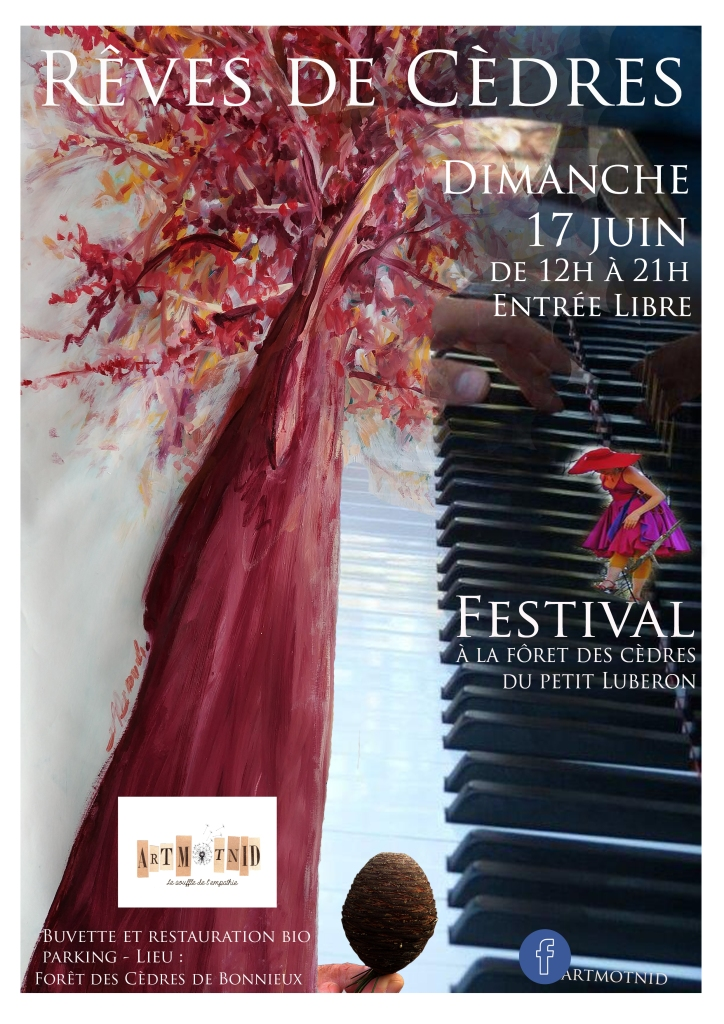 Affiche festival Rêves de Cèdres 2018