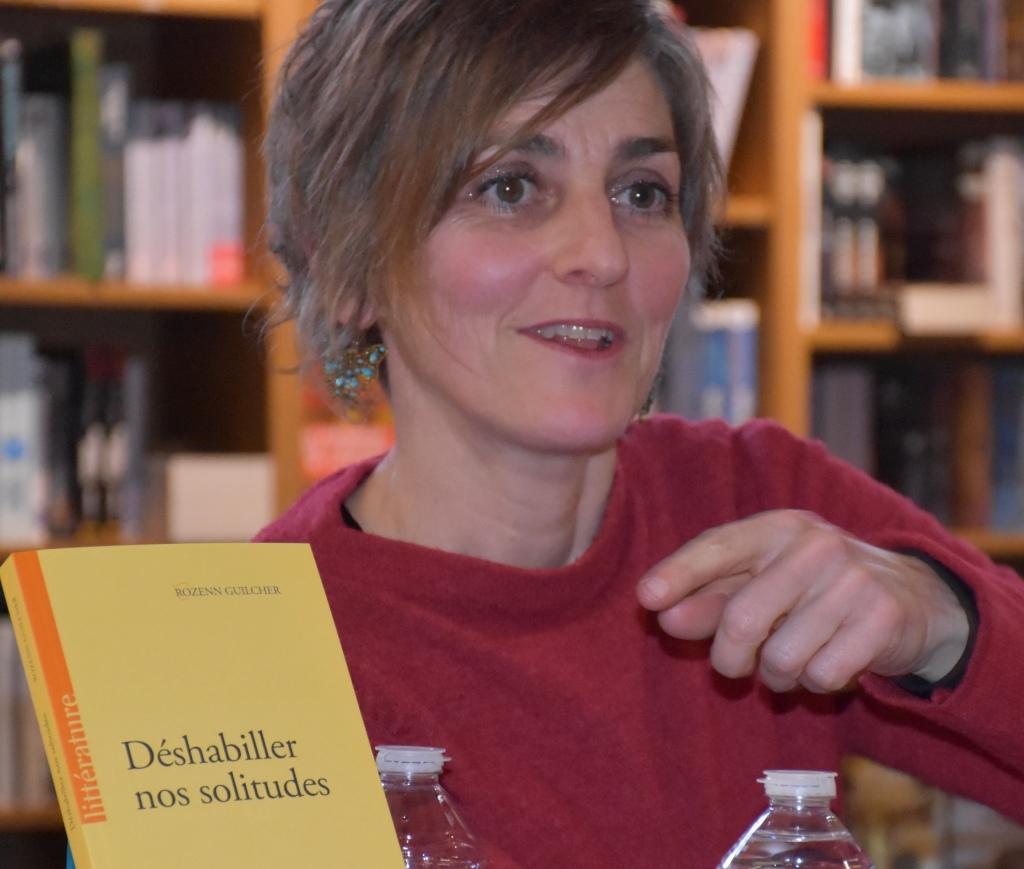 Présentation Rozenn Guilcher livre Déshabiller nos solitudes