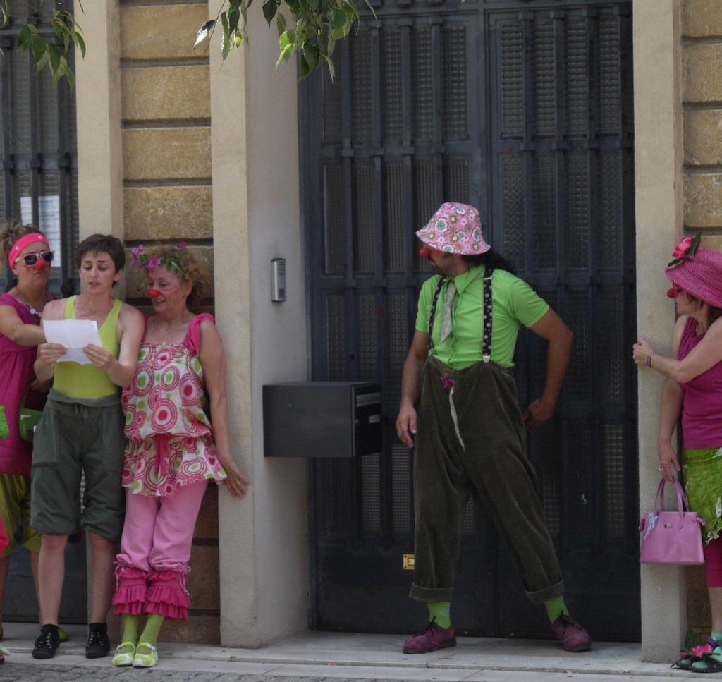 Rozenn Guilcher lectrice en rue
