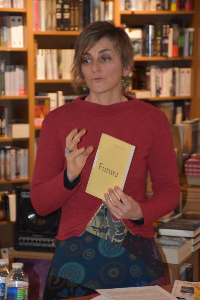 Présentation livre Futura Rozenn Guilcher