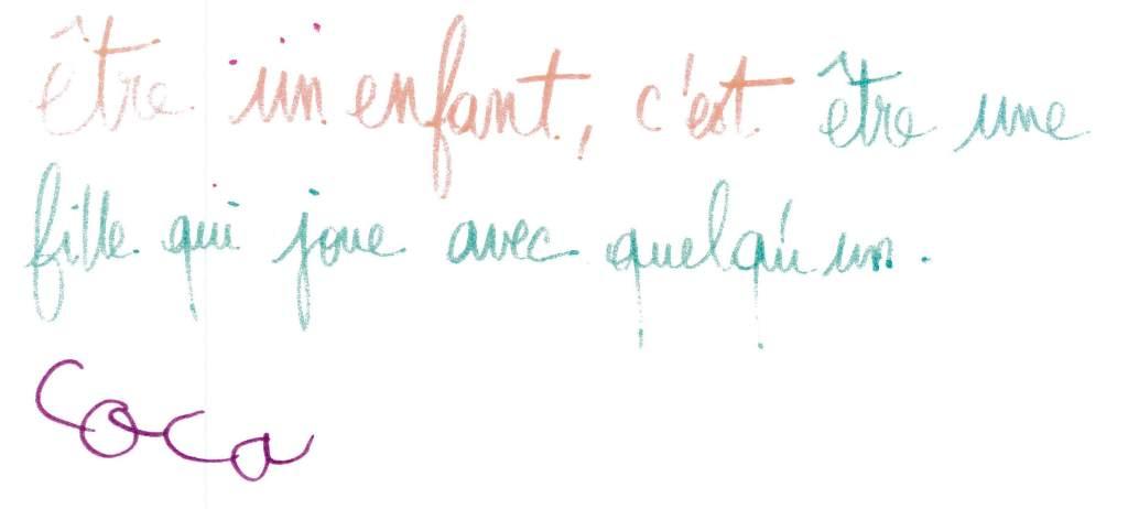 Texte atelier écriture enfant Rozenn Guilcher