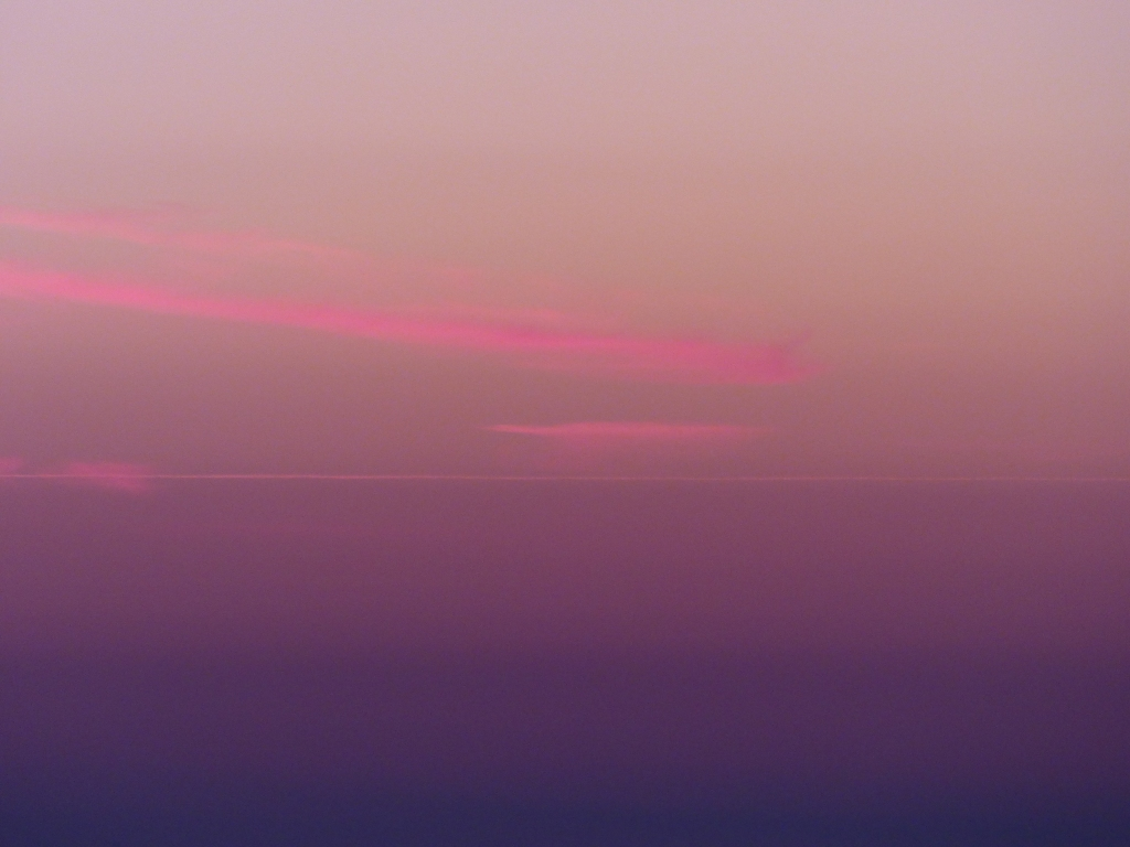 Photo Rozenn Guilcher nuage rose horizon