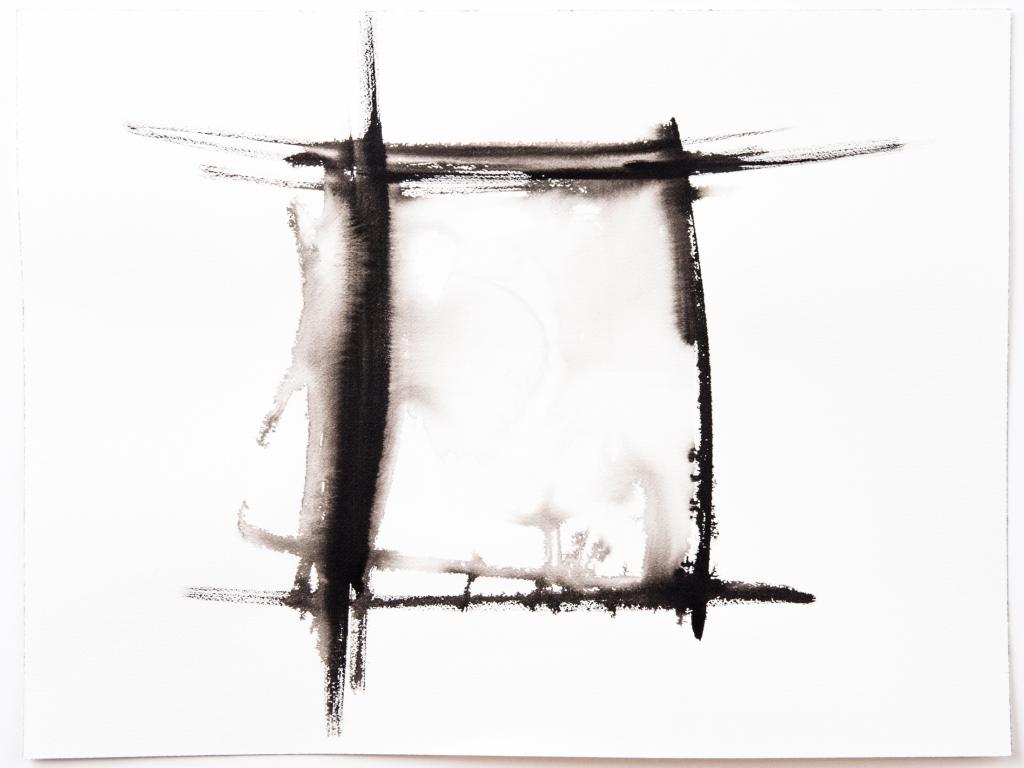 Encre noire carrée Rozenn