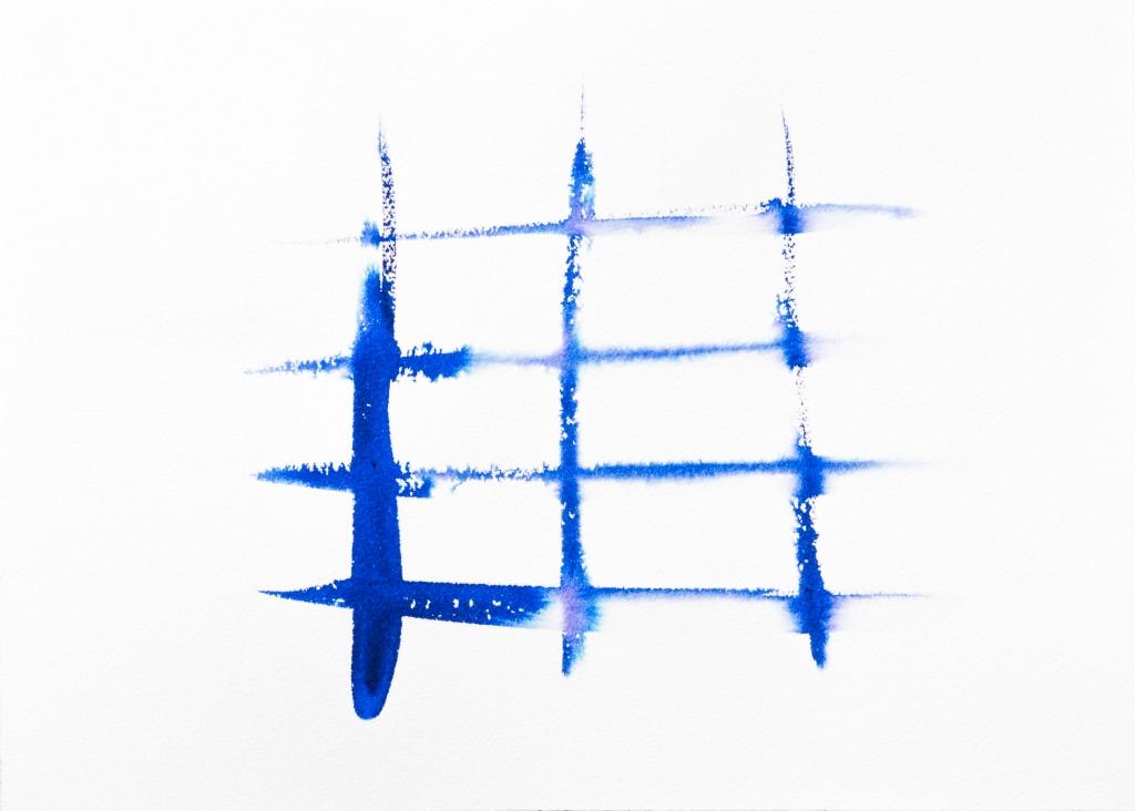 Barricade bleue encre Rozenn