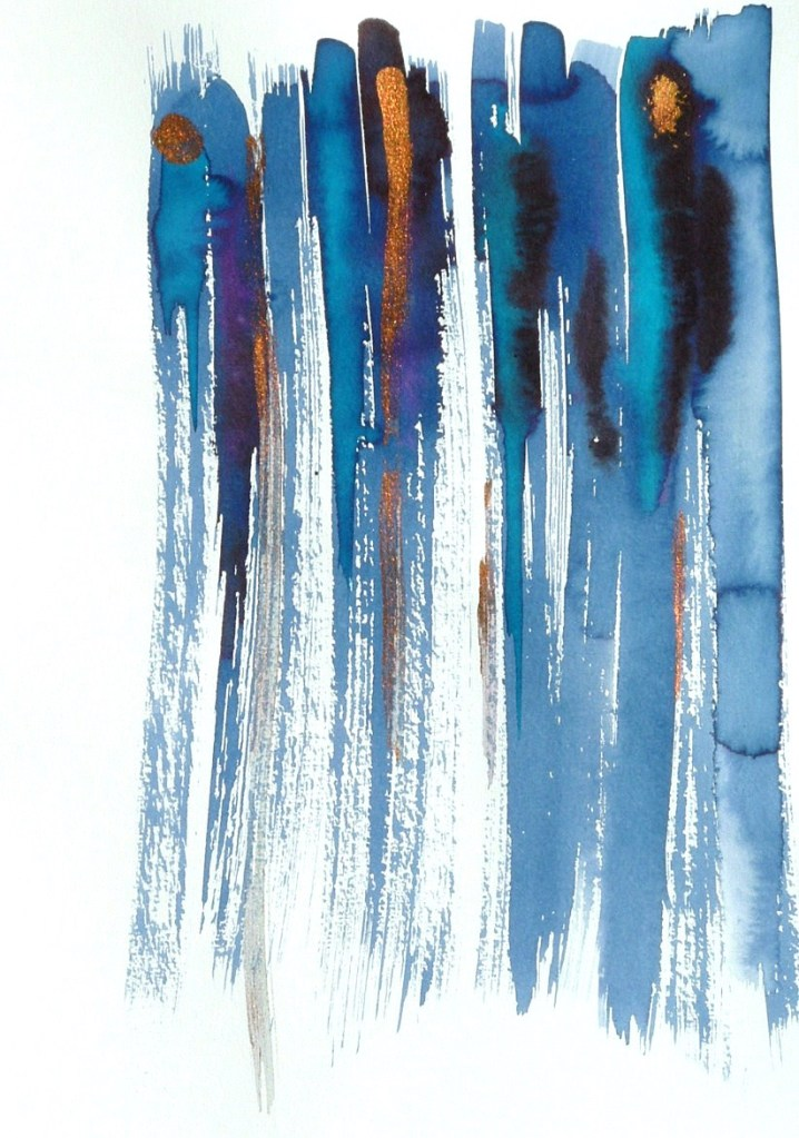 La fille bleue Rozenn Guilcher