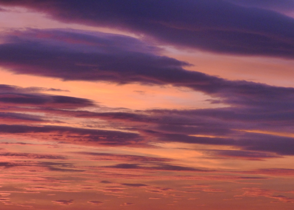 Photo Rozenn Guilcher ciel mauve