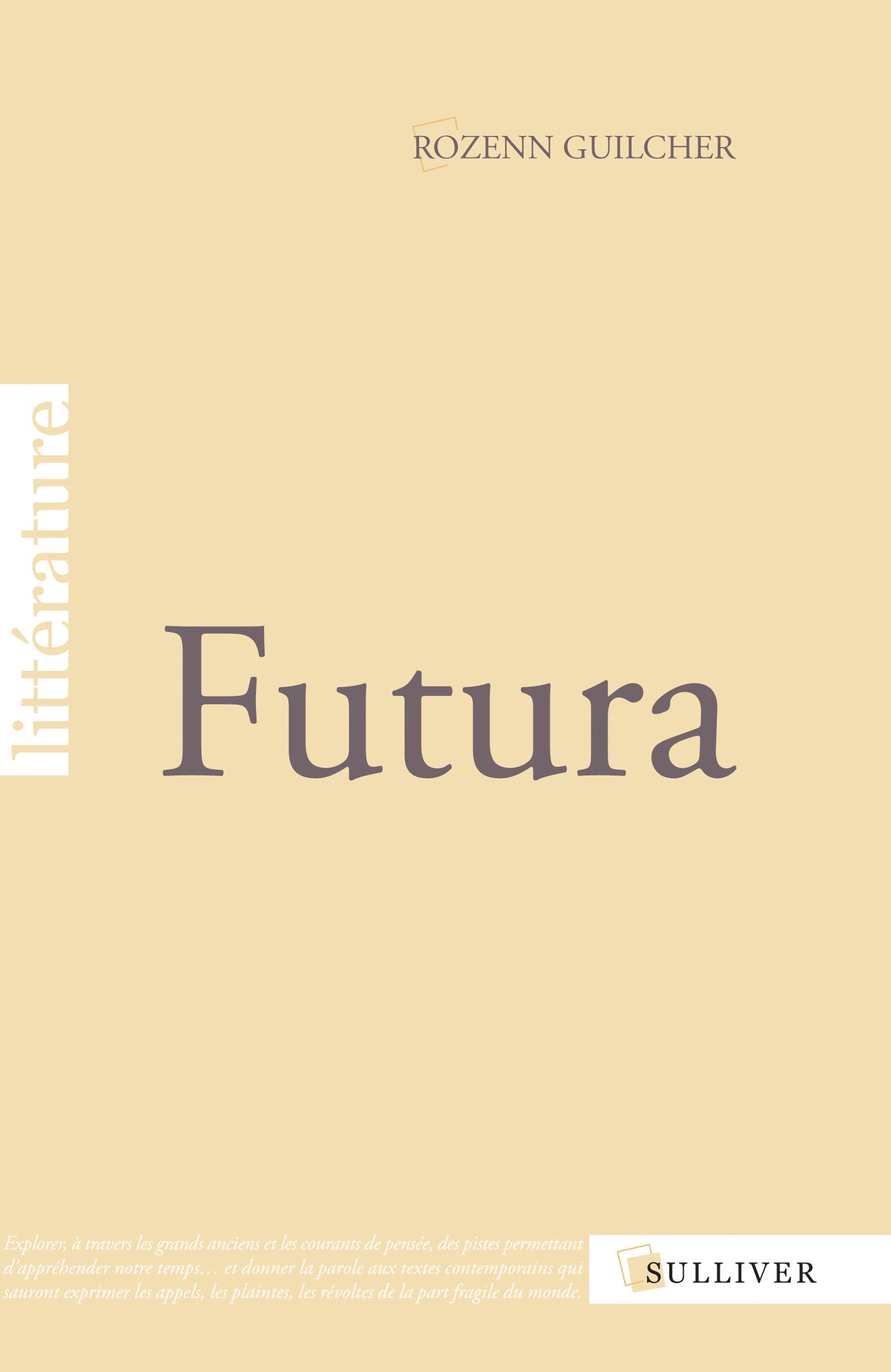 Livre Futura Rozenn Guilcher