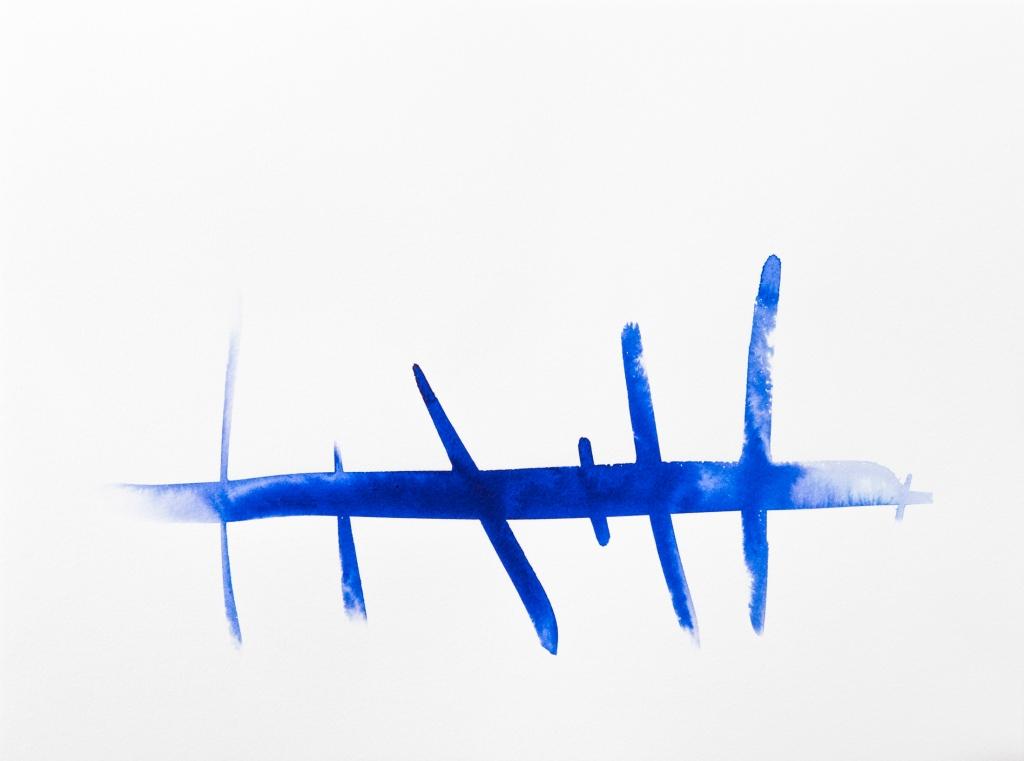 Encre Rozenn Guilcher Bleue